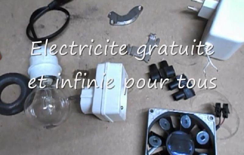Électricité gratuite et infinie pour tous