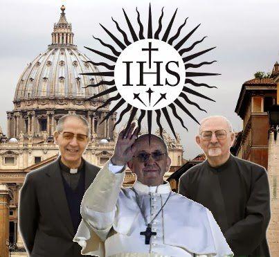 Derrière les illuminati : Les jésuites