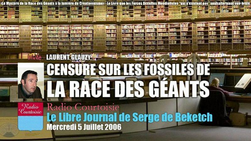 Le Mystère de la Race des géants et la censure de leur fossile