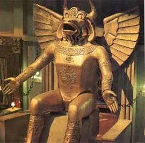 La naissance du culte de Moloch, le Dieu flamboyant dévoreur d'enfants
