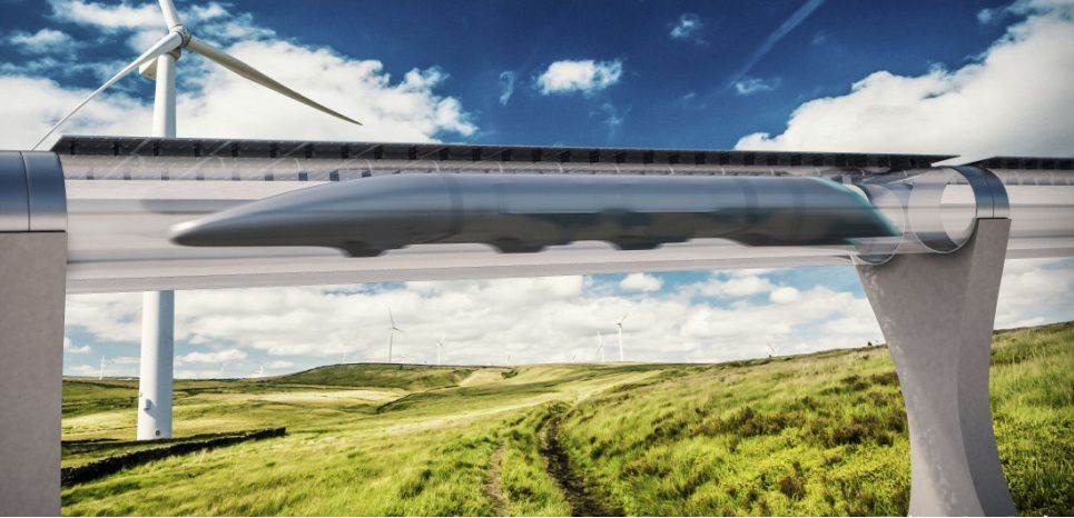 Hyperloop: Premier test du «train du futur»