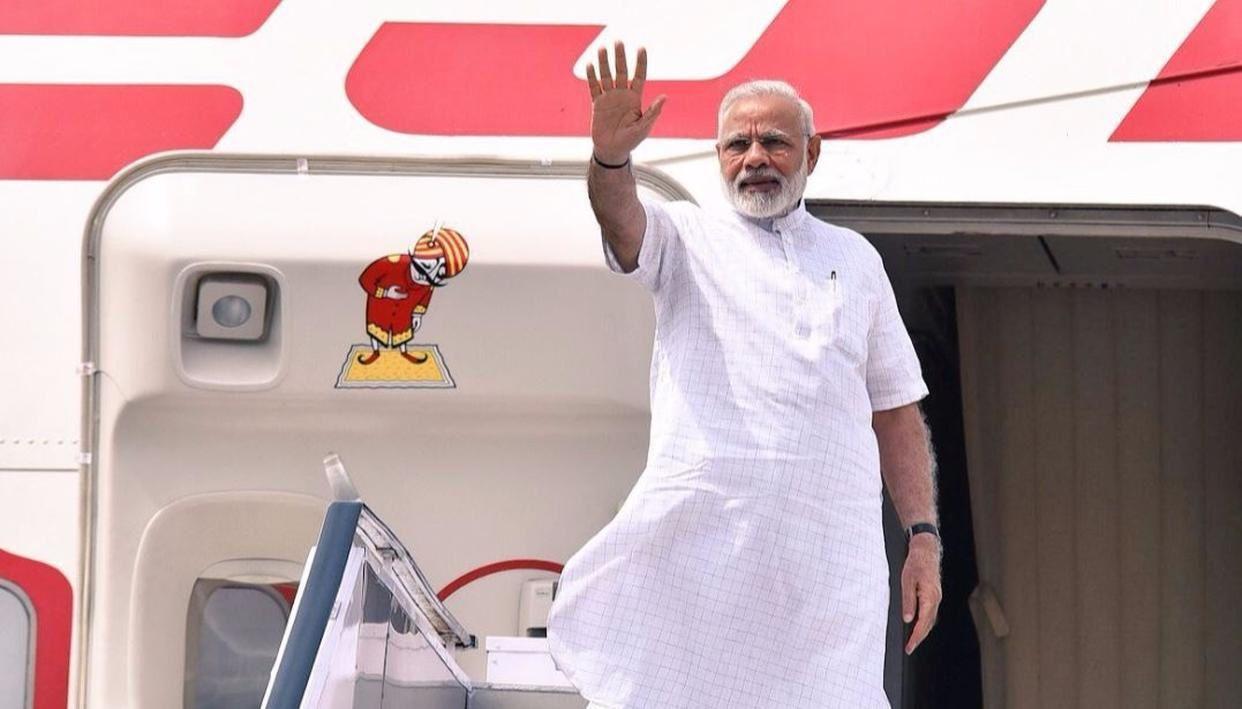 Premier ministre indien Narendra Modi avant sa visite en Israël