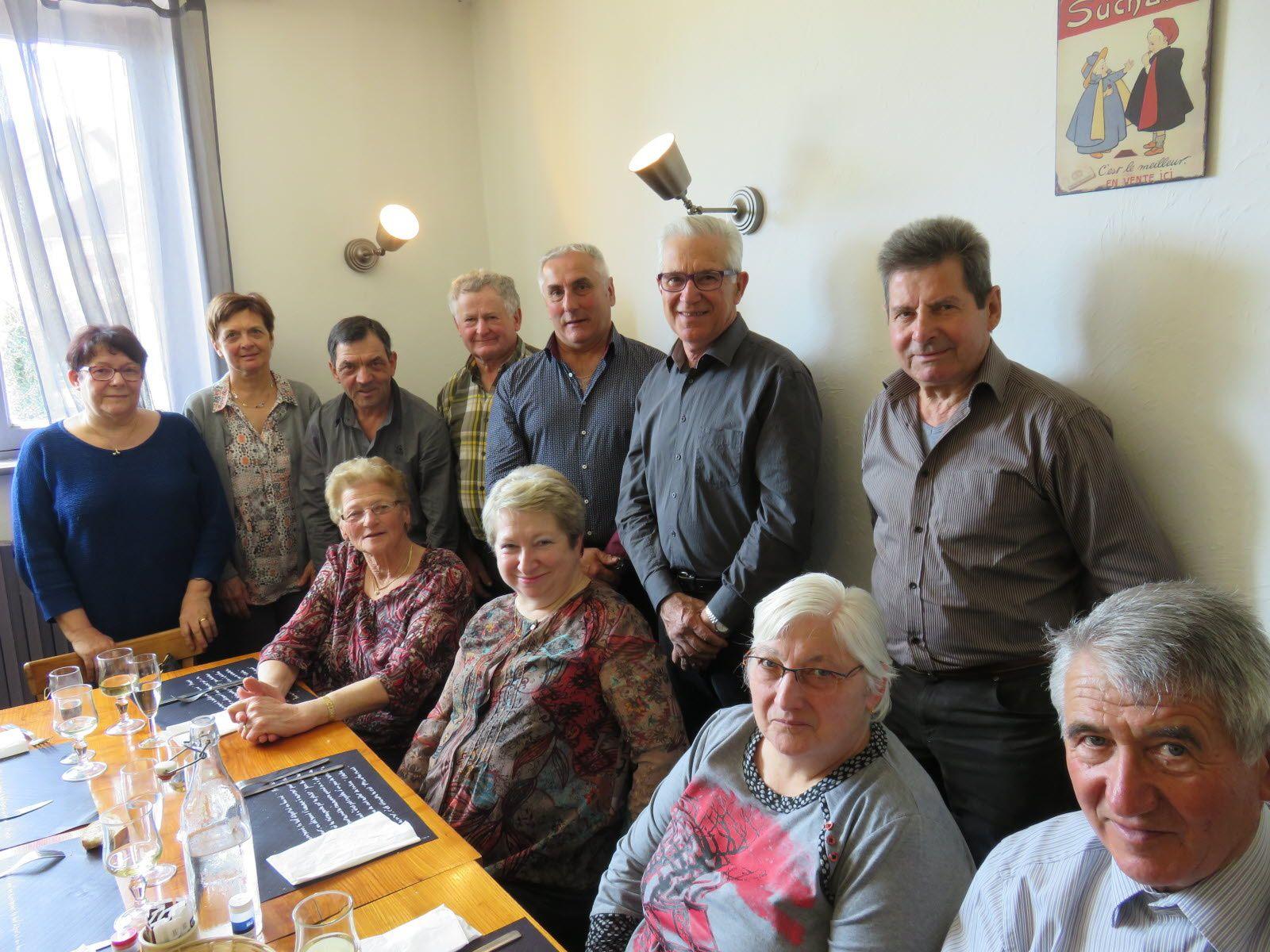 Le comité de fleurissement entame sa saison au restaurant