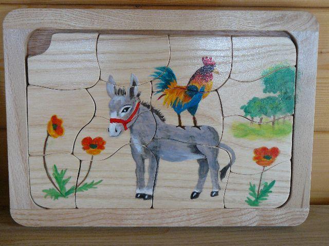 Le coq et l'âne