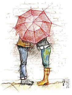 Le chapeau de pluie !