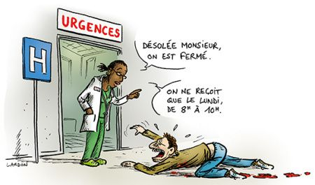 En direct des urgences