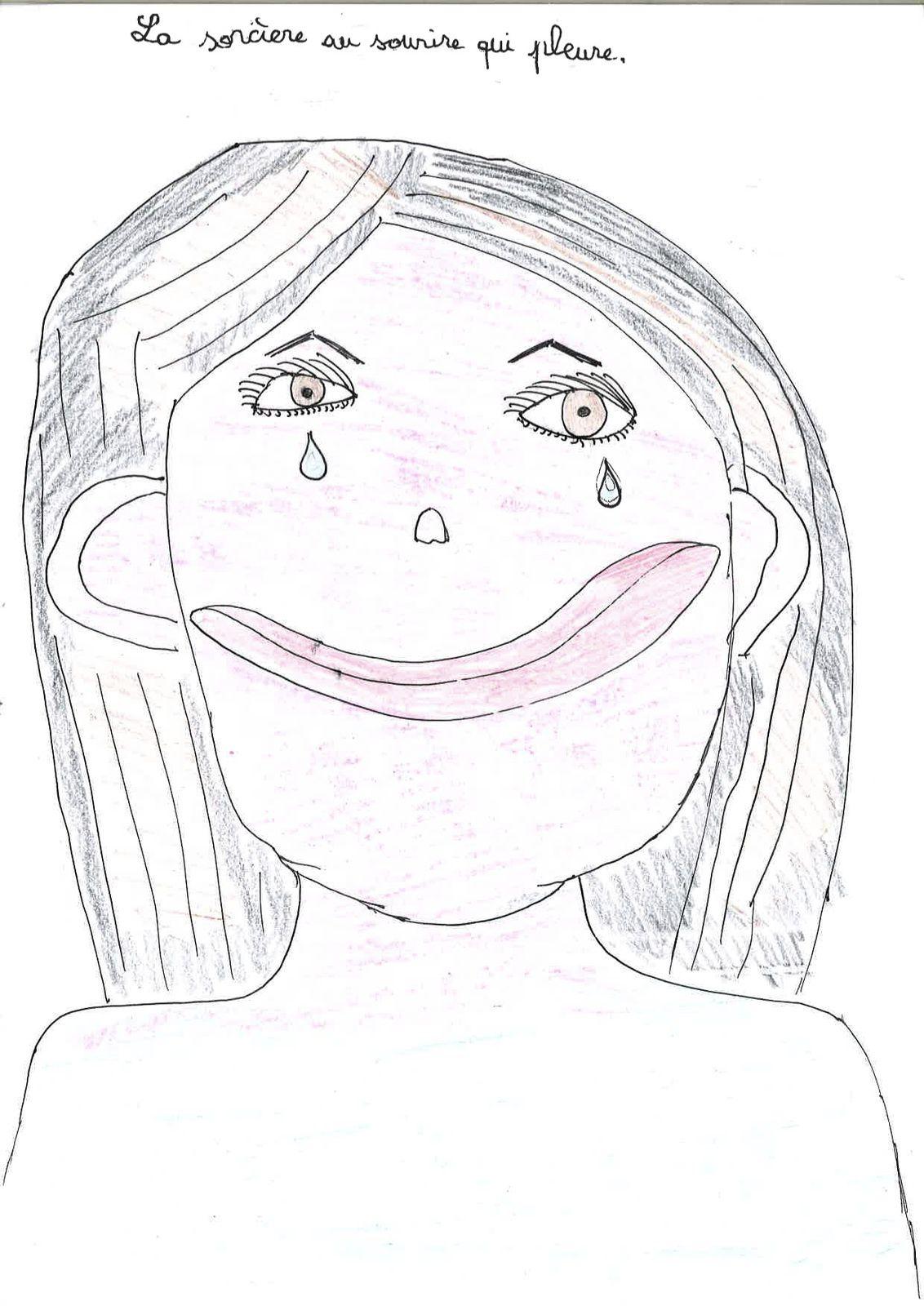 La sorcière au sourire qui pleure