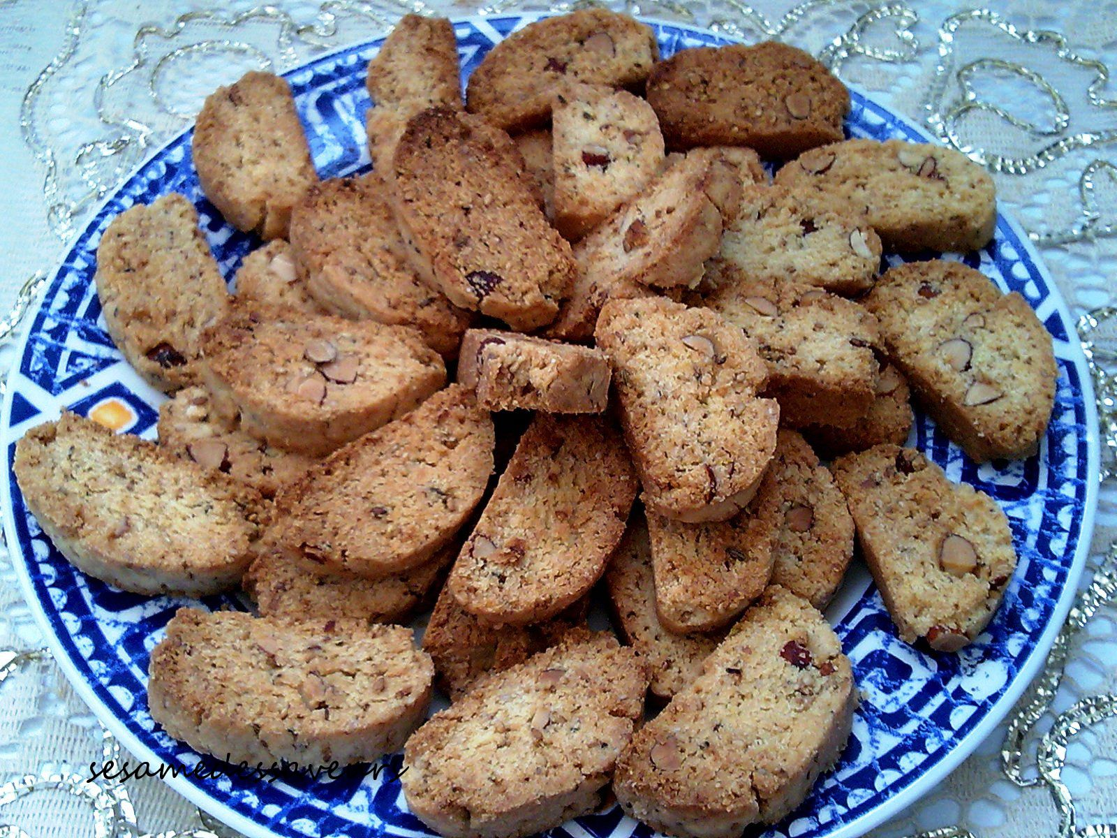 FEKKAS OU BISCUITS MAROCAINS