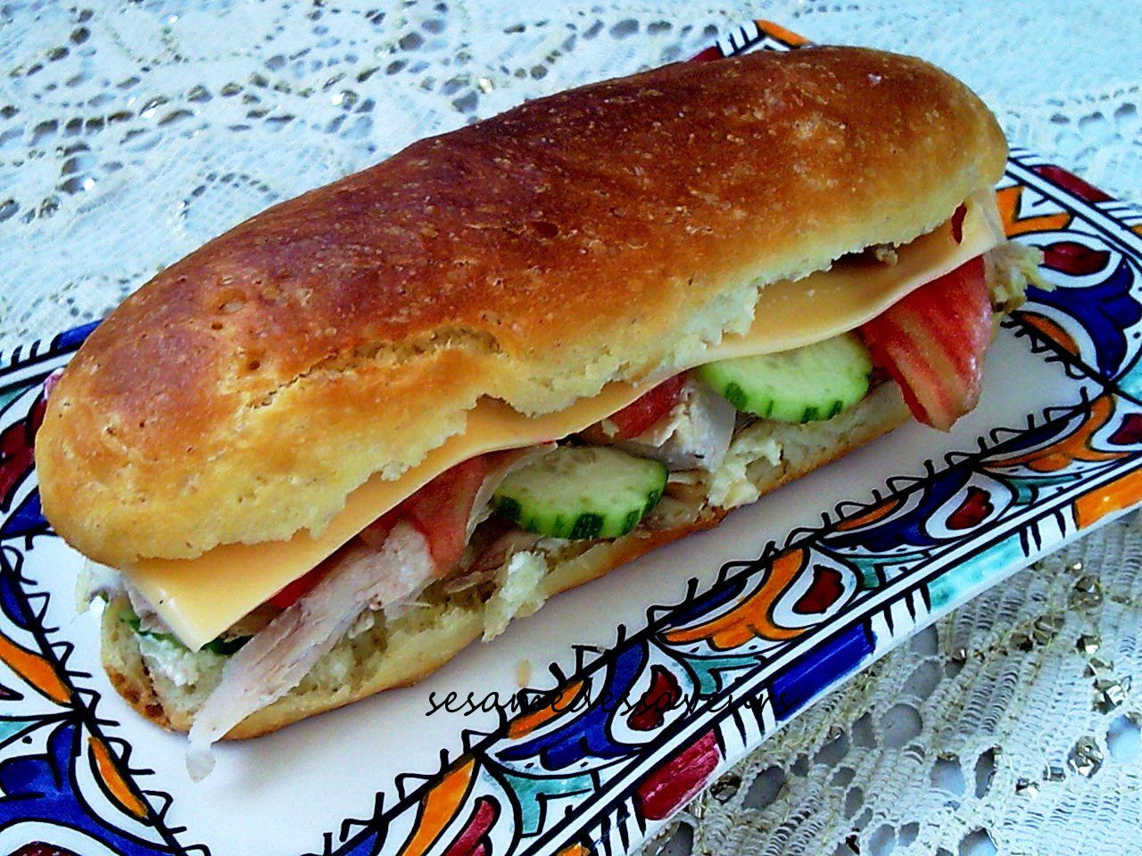 SANDWICHS POULET FROMAGE