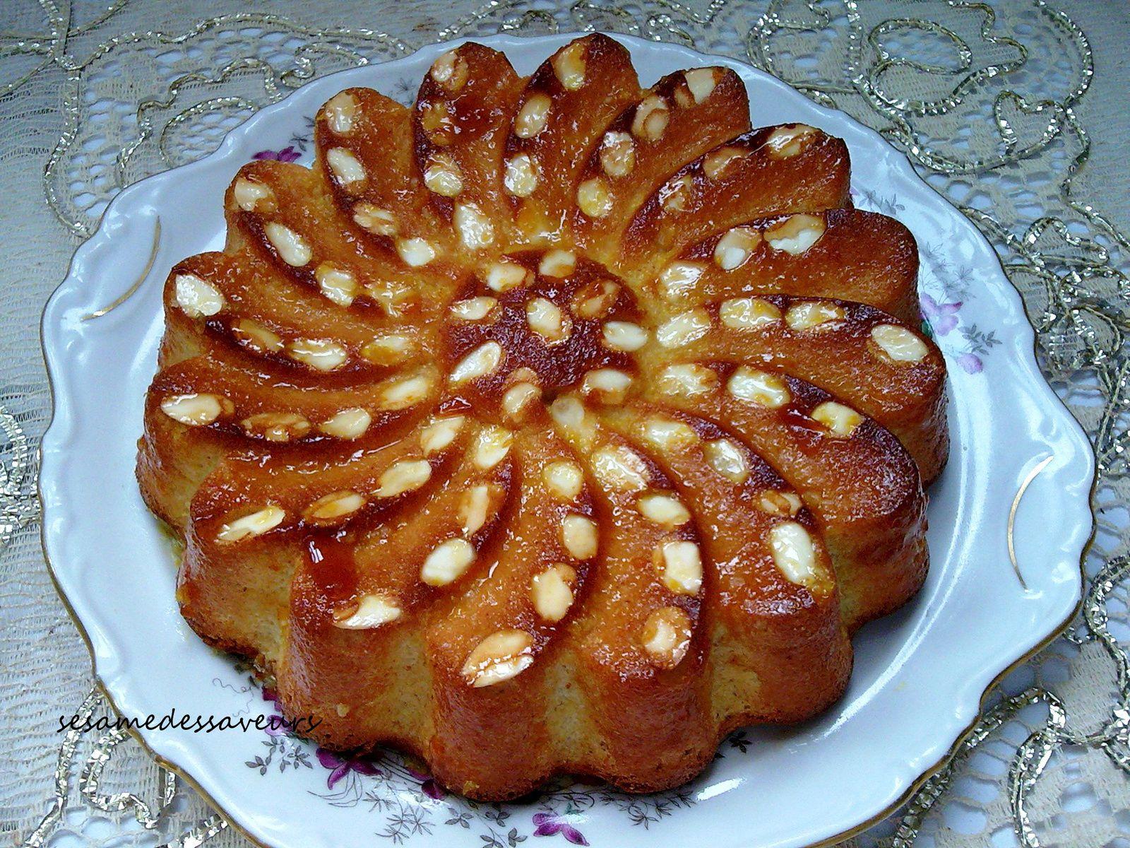 Gâteau orange amandes