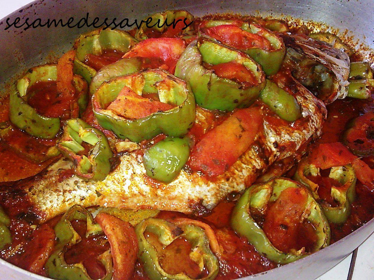 Recettes base de poisson le s same des saveurs - Recette poisson grille au four ...