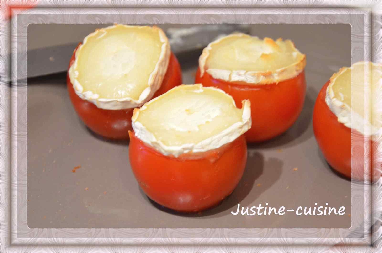 Tomate au chèvre chaud