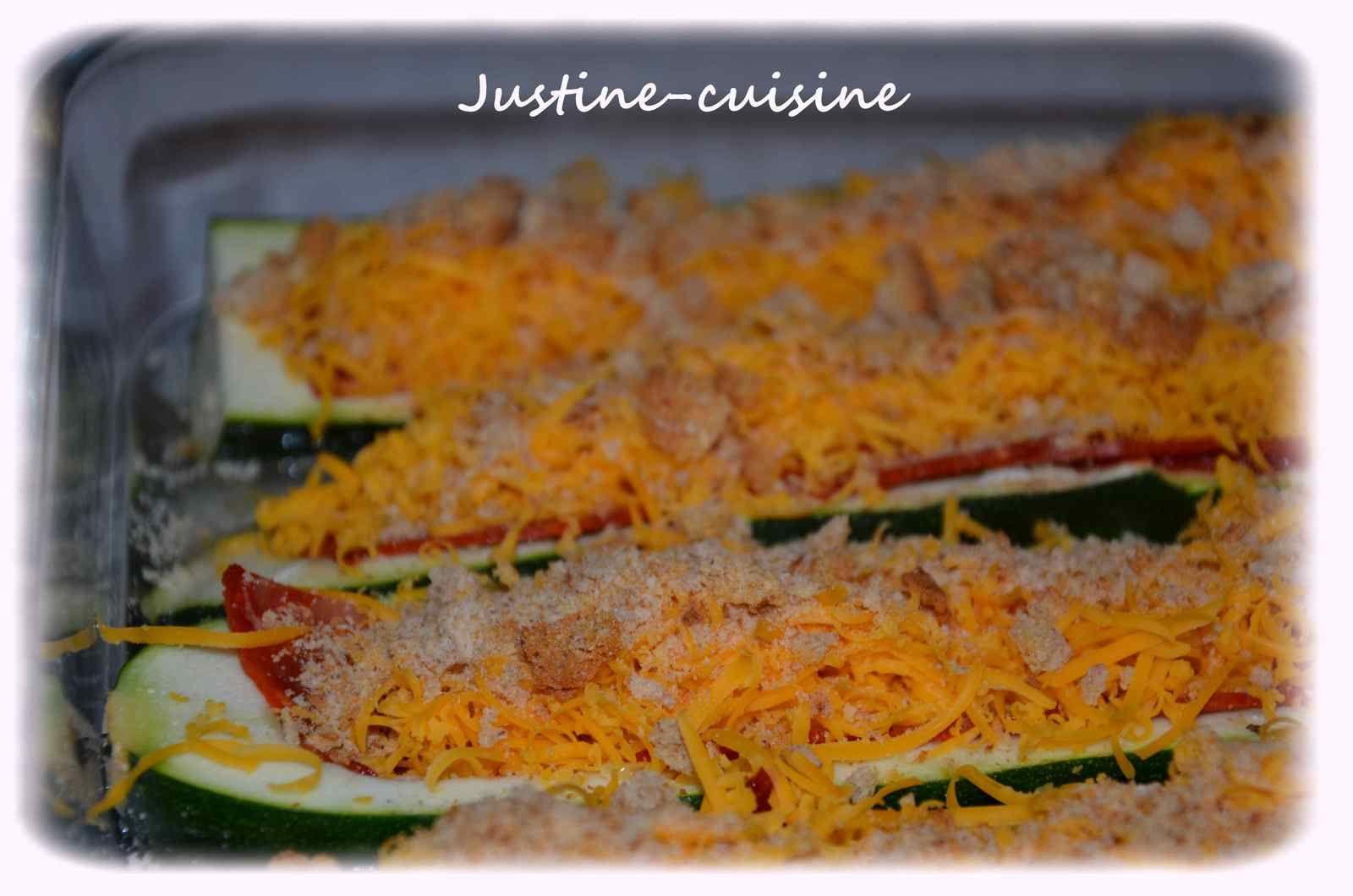 Courgette'pizza