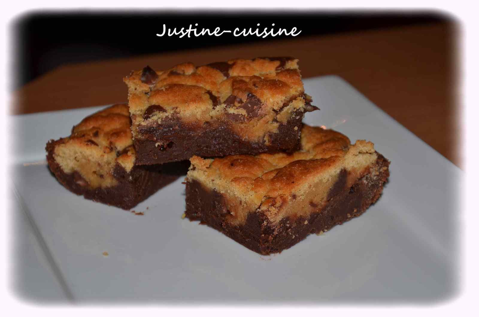 Le brookie (brownie/cookie)