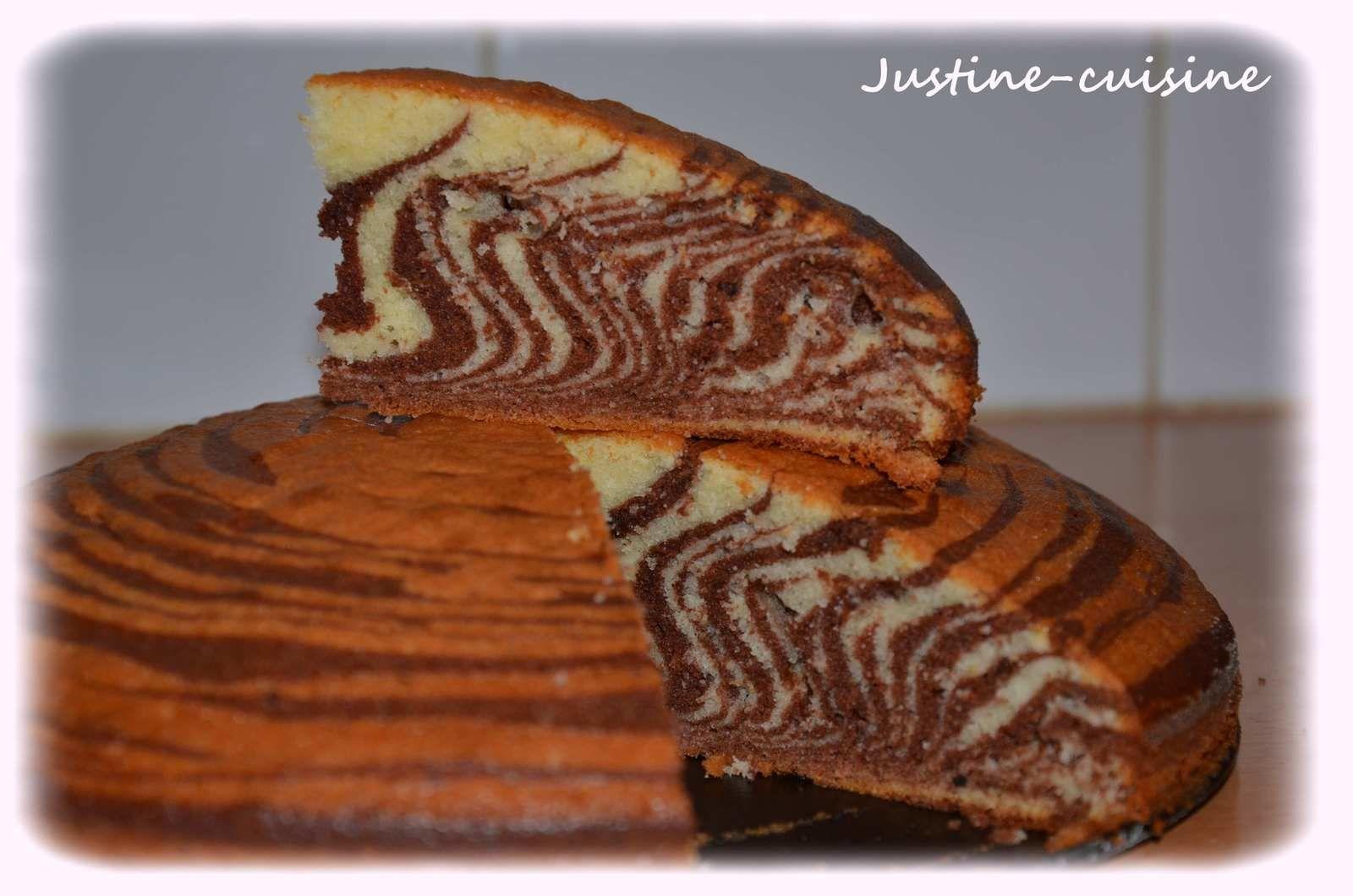 Le Zebra Cake