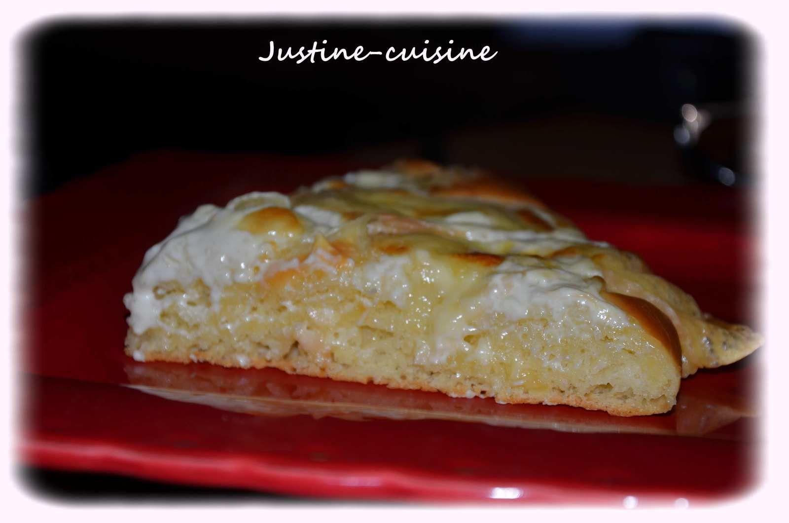 Tarte briochée au Maroilles (Passe-plats entre amis)