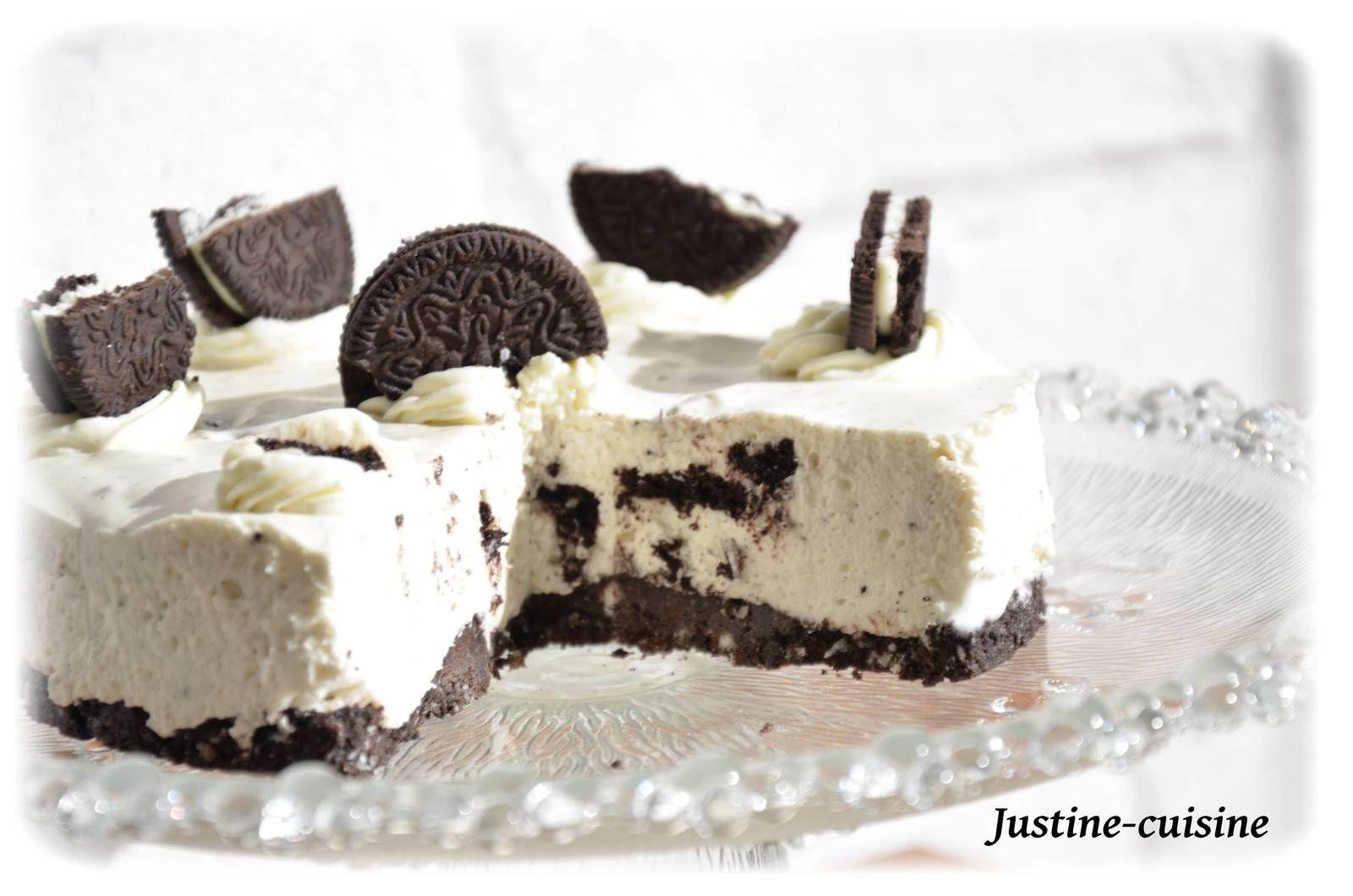 Cheesecake aux Oréos sans cuisson {mascarpone}