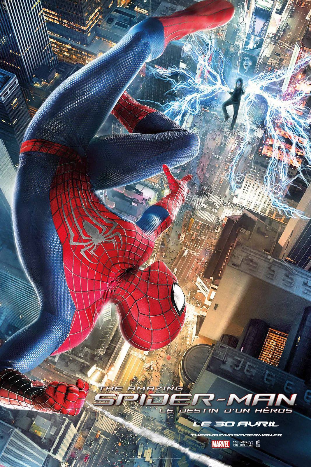 The Amazing Spider-Man 2 : l'extrait Times Square