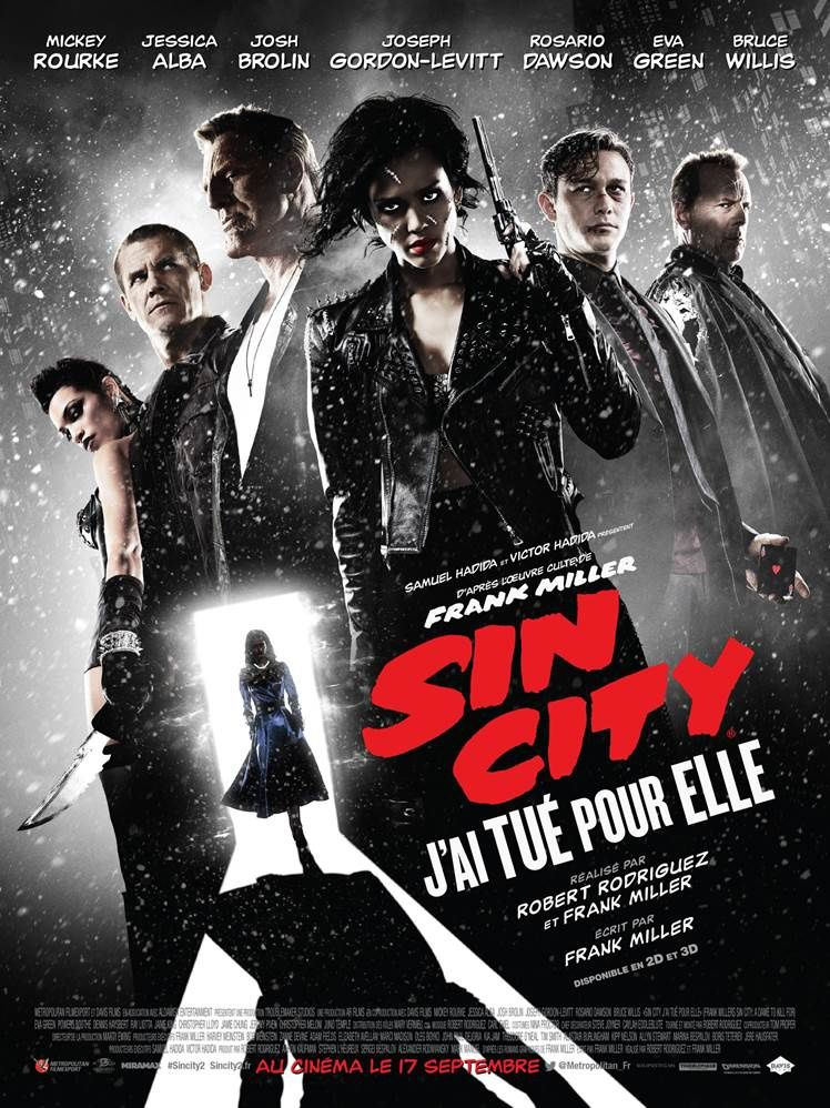 Sin City 2 : le contenu de l'édition collector Blu-ray