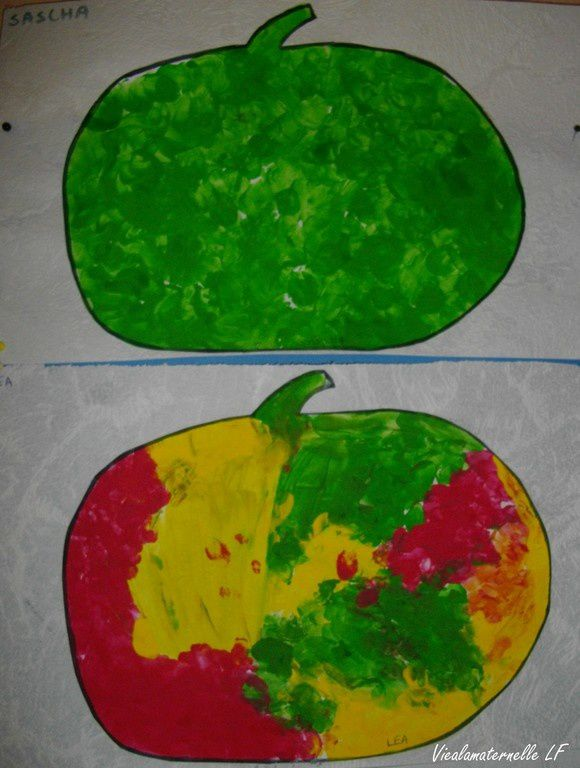 Des pommes ...
