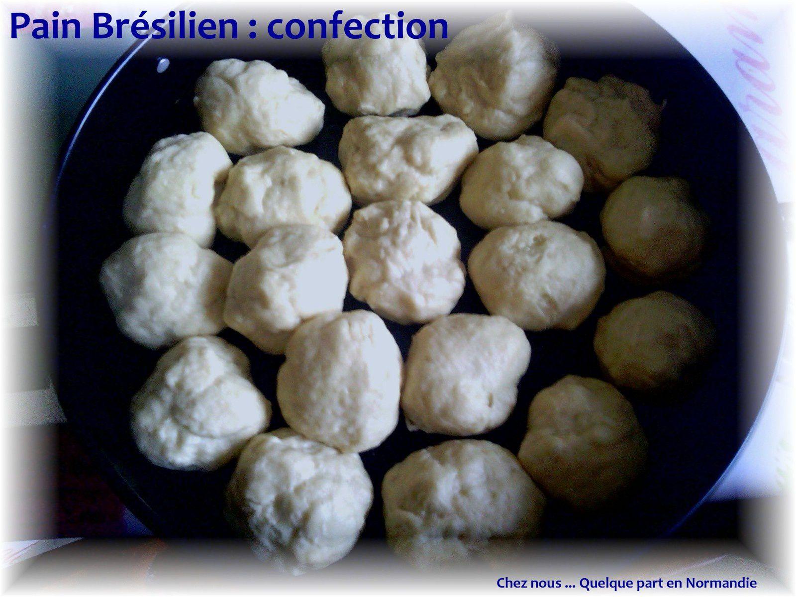 Le brésil dans la cuisine  : Pain brésilien