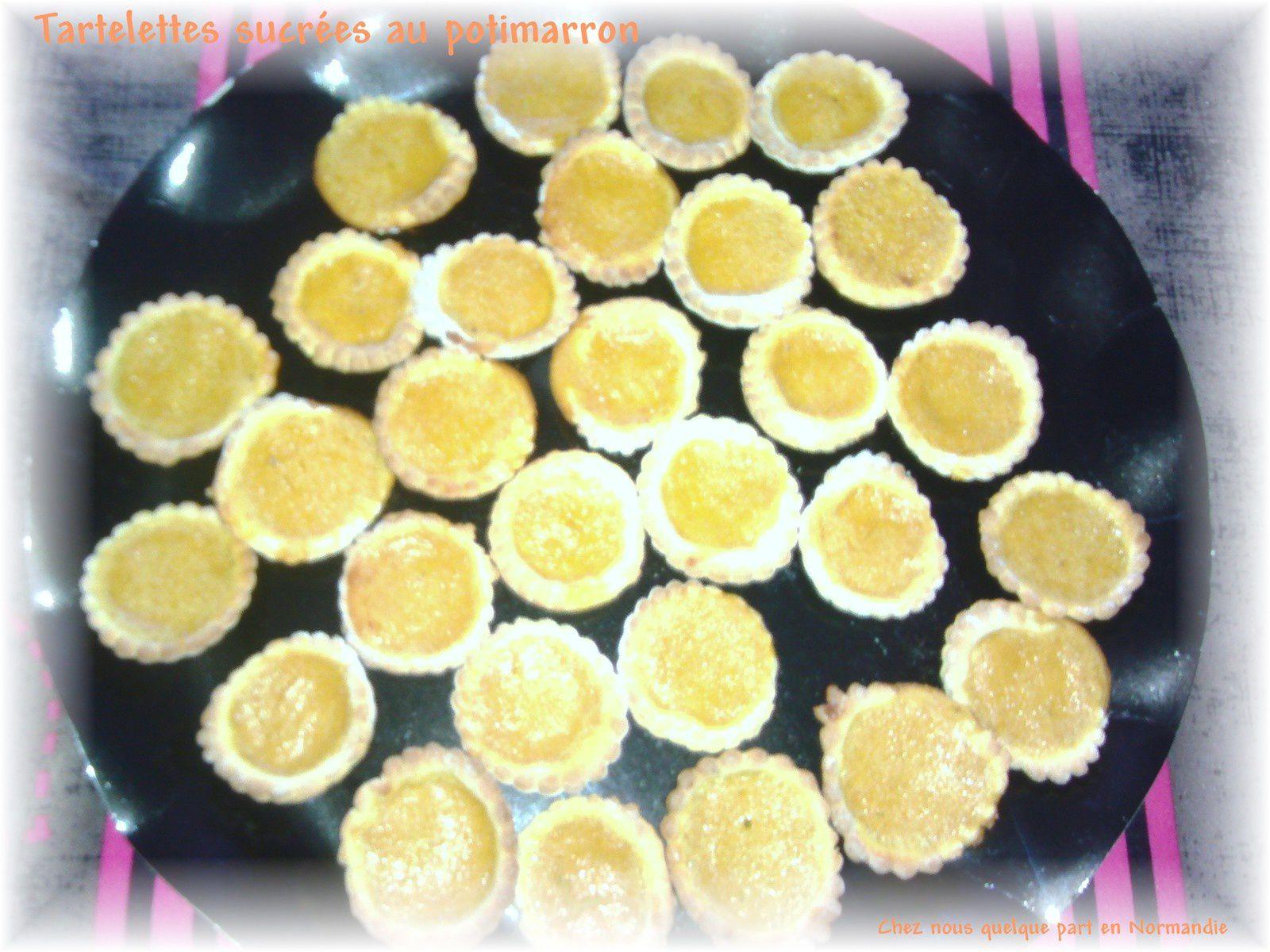 Tartelettes sucrées au potimarron