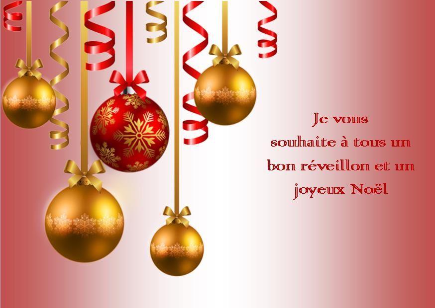 Bon réveillon et Joyeux Noël !!!