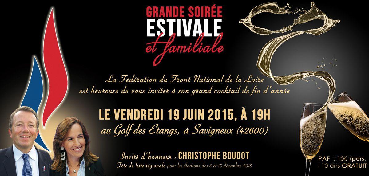 FN Loire : Grande soirée de fin d'année en compagnie de Christophe Boudot (SD FN 69)