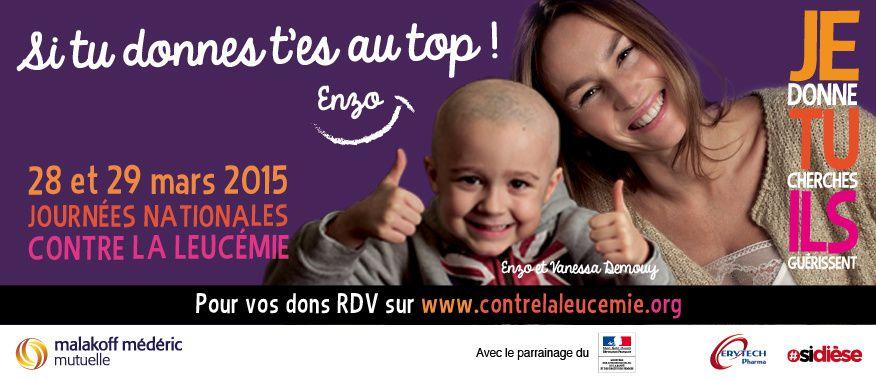 Journées Nationales Contre la Leucémie 2015