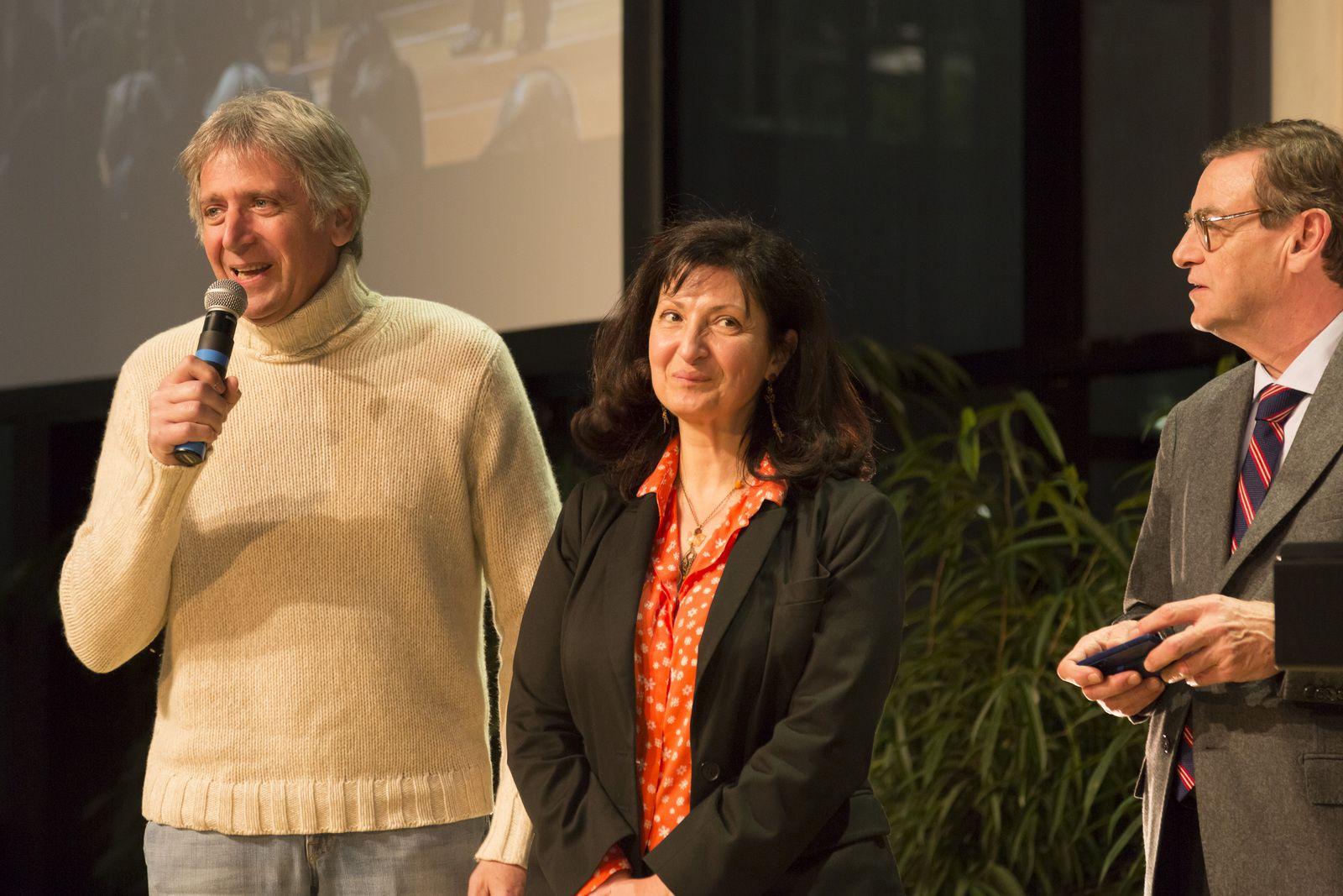 Yves Duteil au cours de la soirée du 5ème Prix de la Fondation Air France le 3 décembre 2013