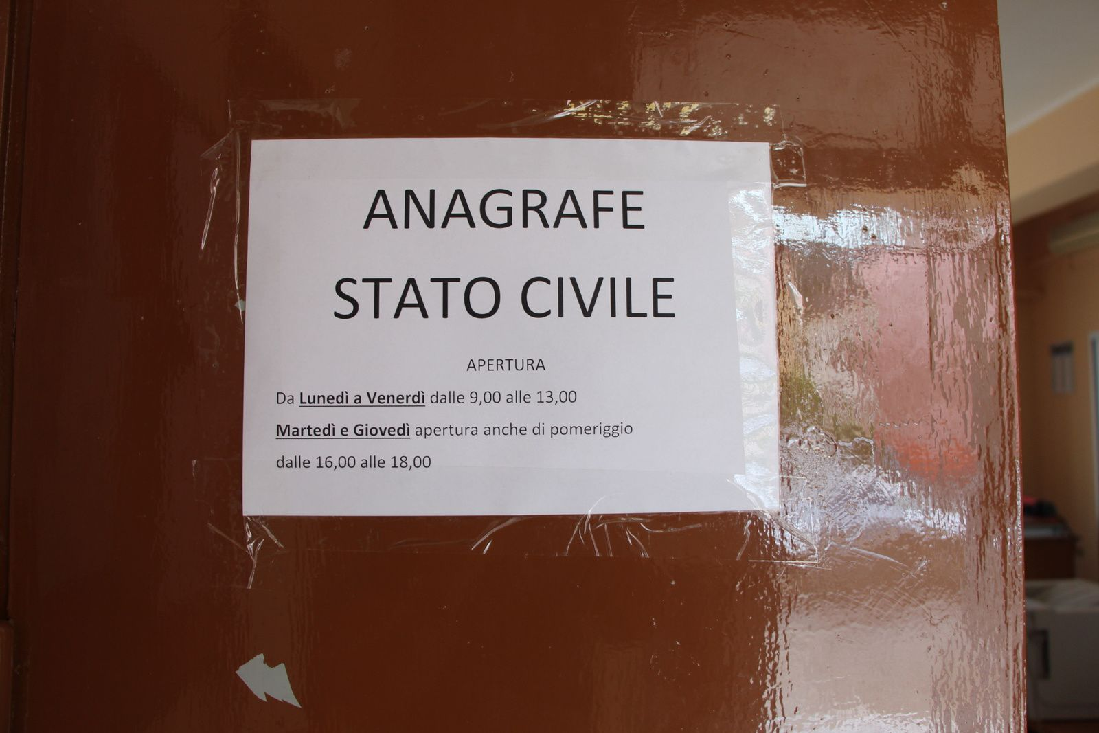 Enquête à Cittanova, Province de Reggio de Calabre