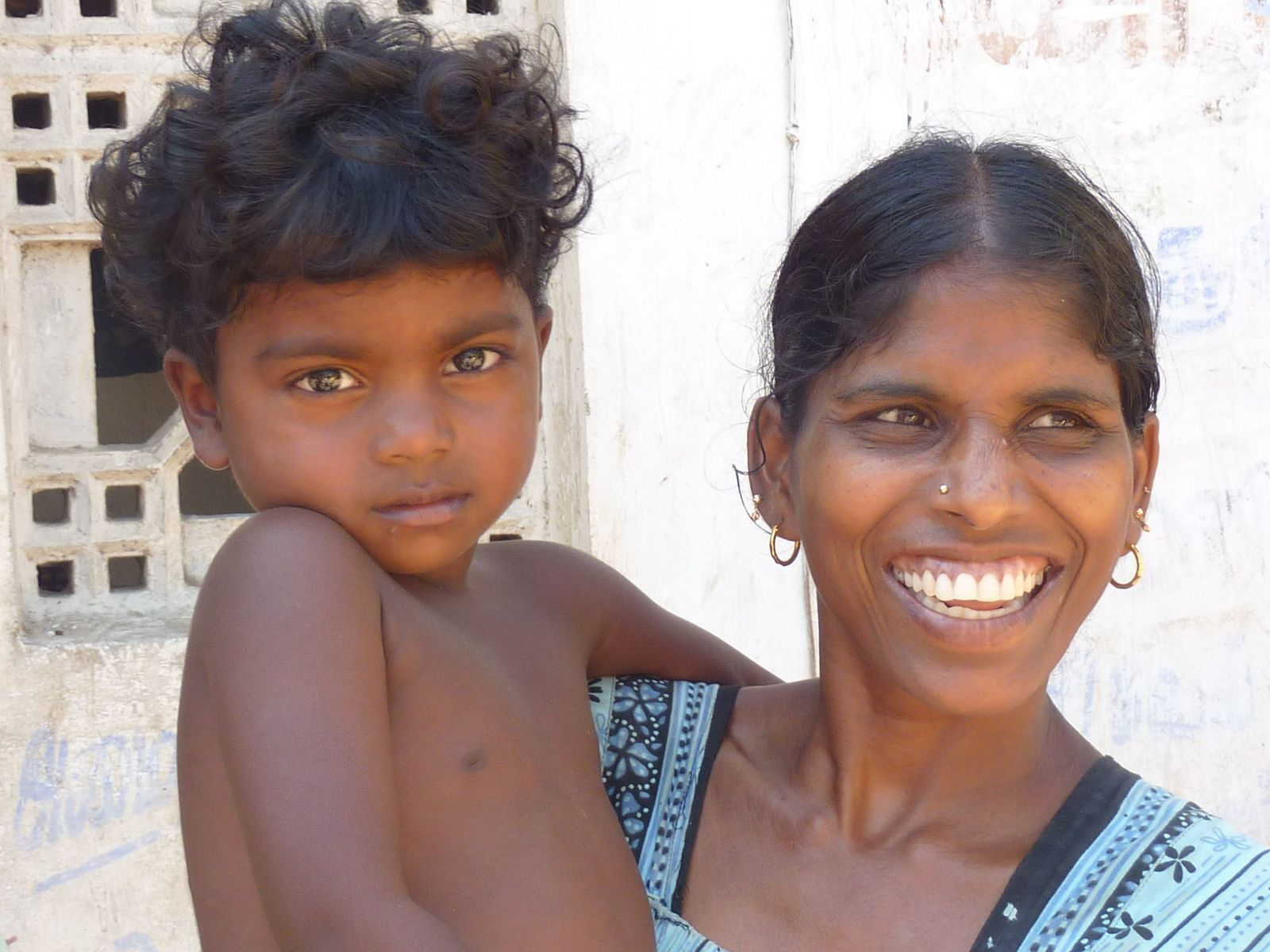 Village de Periyakattupalayam (Tamil Nadu en Inde), mars 2010 © photo eMmA MessanA