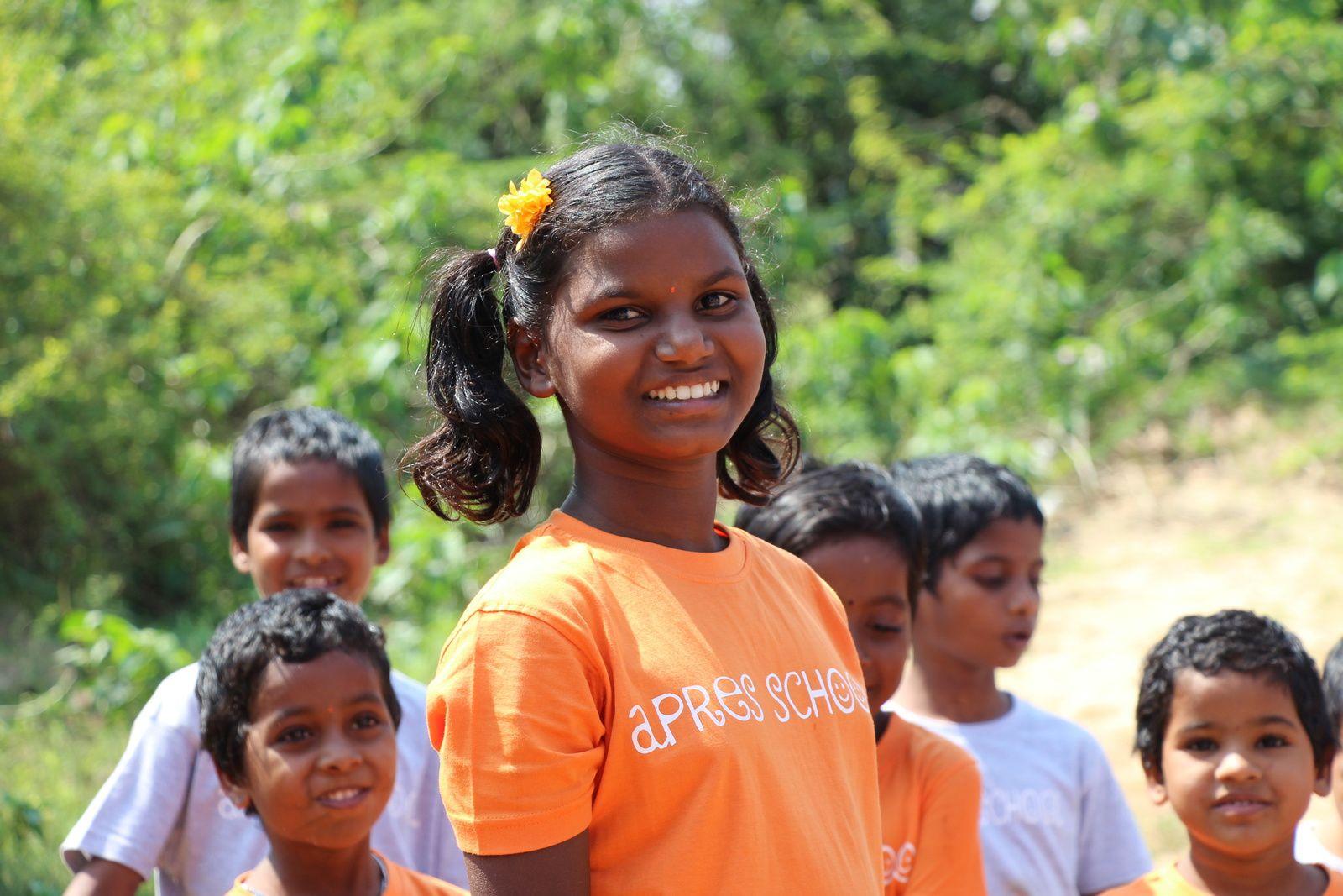 Kanaga, Apres School, Tamil Nadu (Inde), 6 février 217 © eMmA MessanA