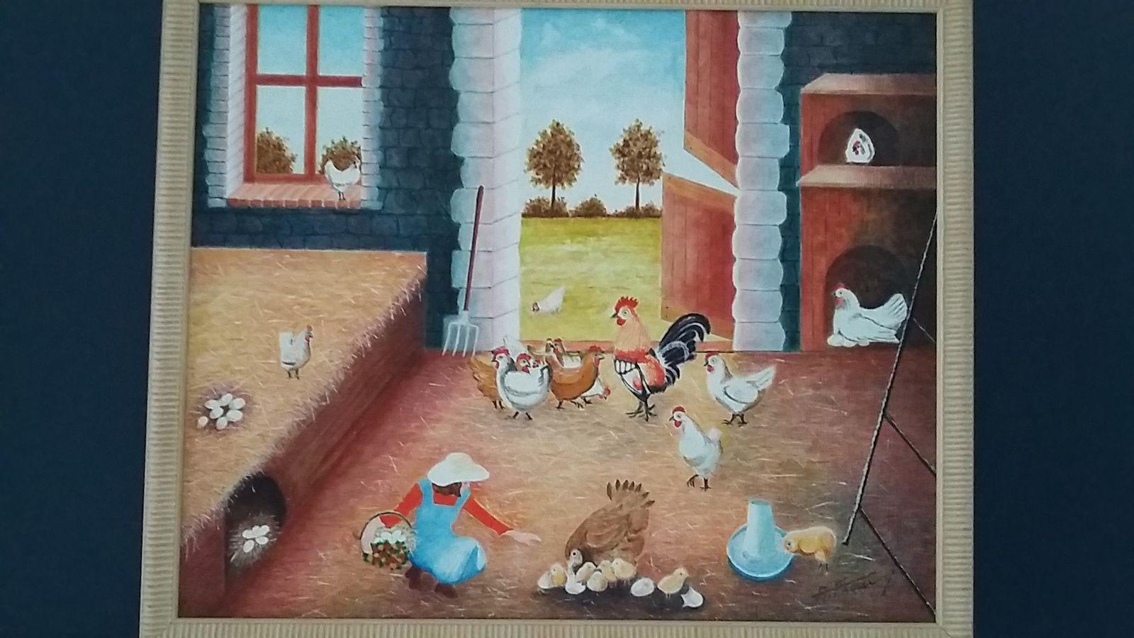 """Antoine Frau, N°249-8 """"Le poulailler"""", 2001"""