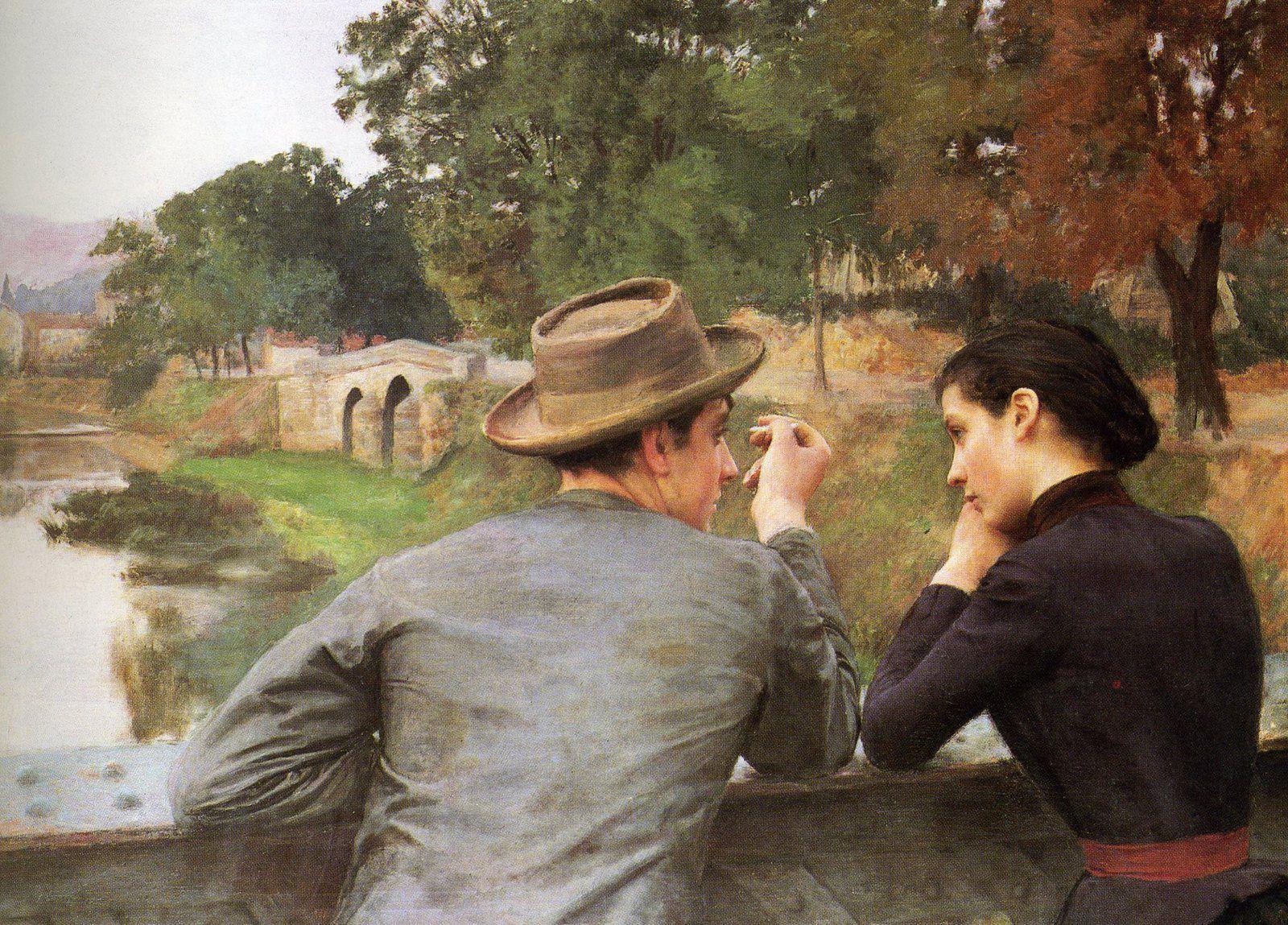 Quand la peinture devient photographie : Emile Friant