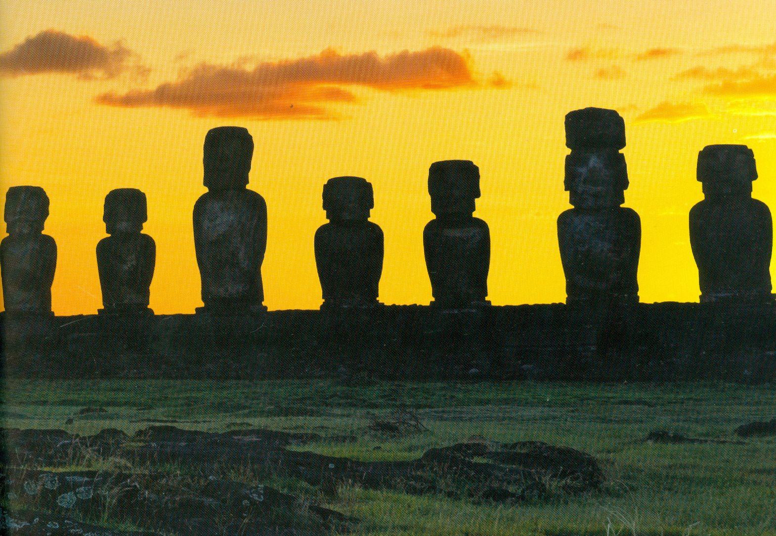 Les géants de Rapa Nui