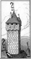 Girouette impériale au Haut-Koenigsbourg