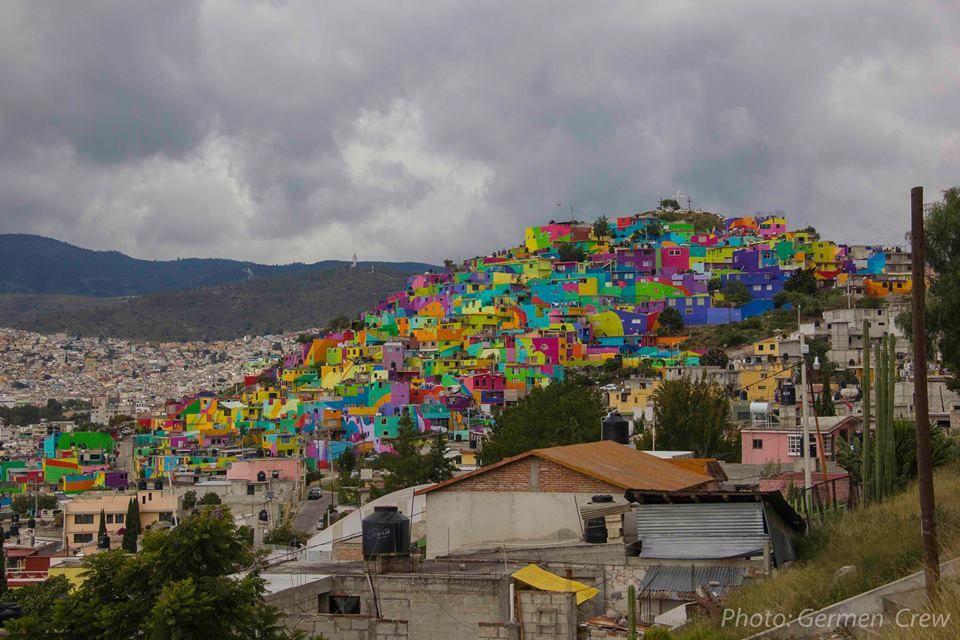 Des murs colorés pour égayer la ville?