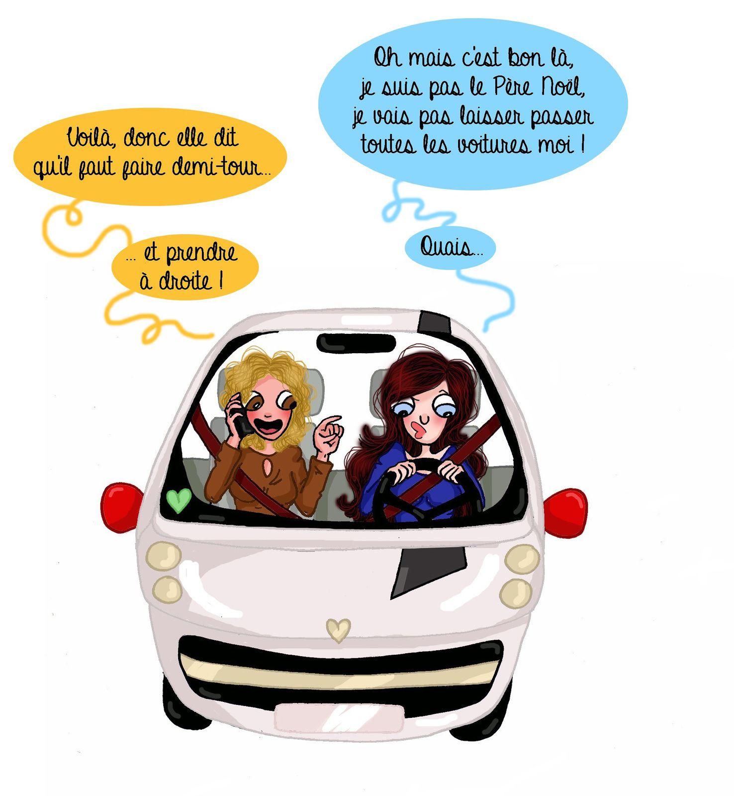 Ma mère, ce GPS...