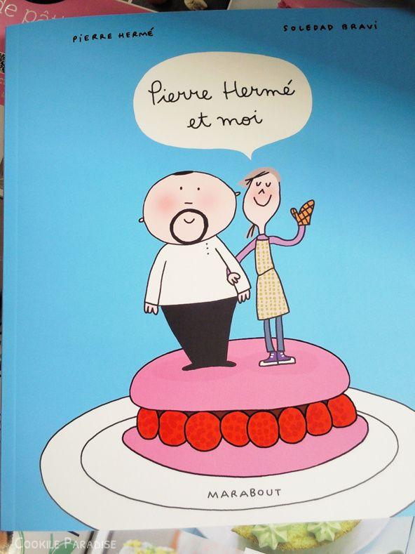 Le livre Pierre Hermé et moi &amp&#x3B; le macaron 'Jardin Mystérieux'