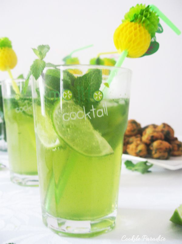 Green mojito virgin