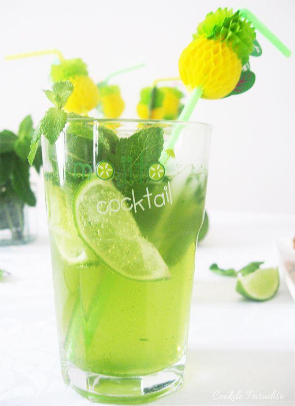 Green mojito virgin