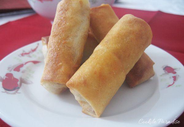 Festin chinois au Nouvel an Chinois III ♥ Chicken Nems - Nems au poulet