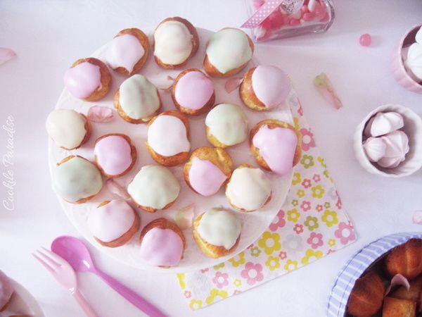 Mes Petits choux pastels & mes tendres gourmandises pour une douce table