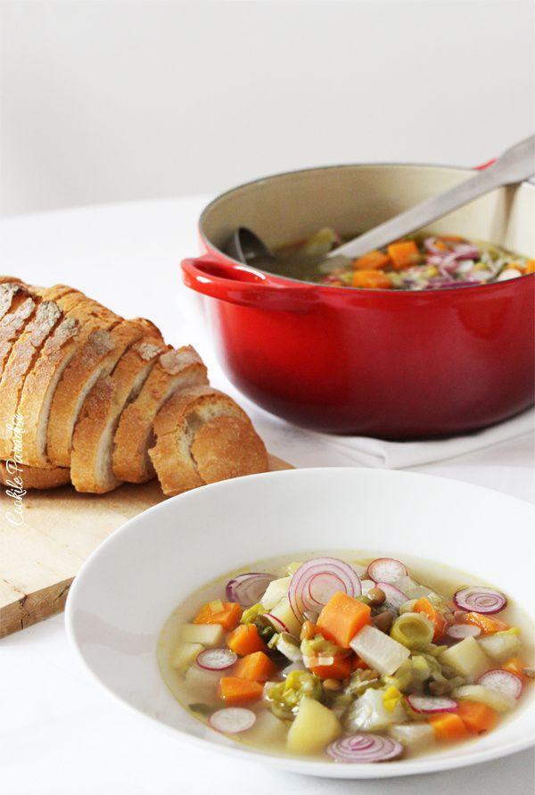 Pot au feu végétarien… mon petit réconfort d'hiver
