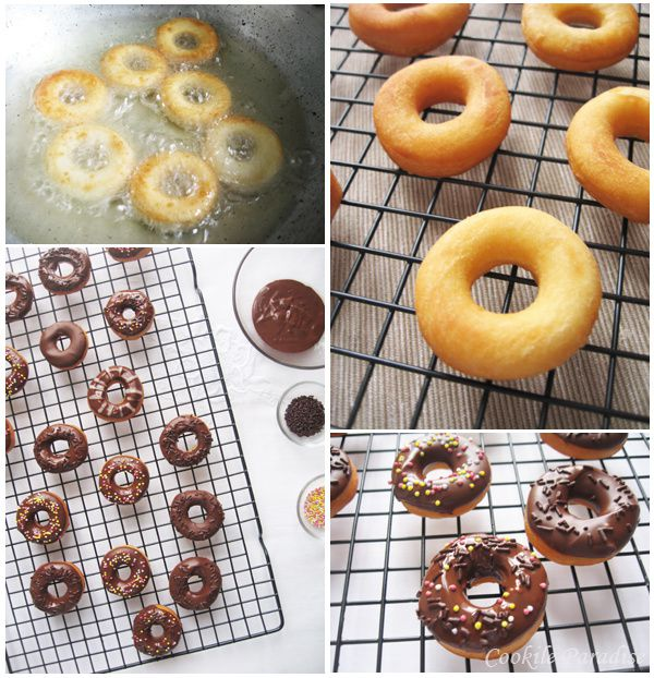 recette donuts chocolat
