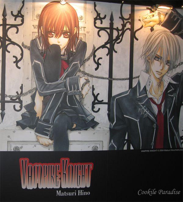 Yuki & Zéro - mangas Vampire knight