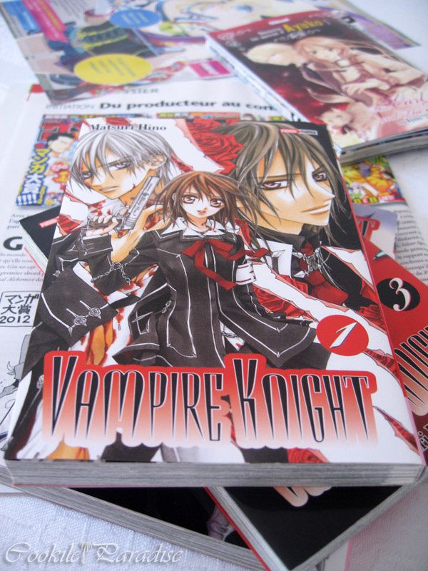 Mangas Vampire knight, Earl and the fairy