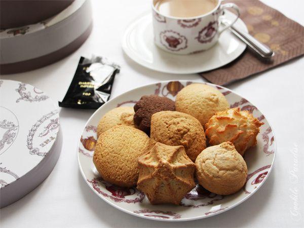 Petits biscuits Billiotte, artisanat & tradition ♥ thé noir Darjeeling impérial pour le tea time