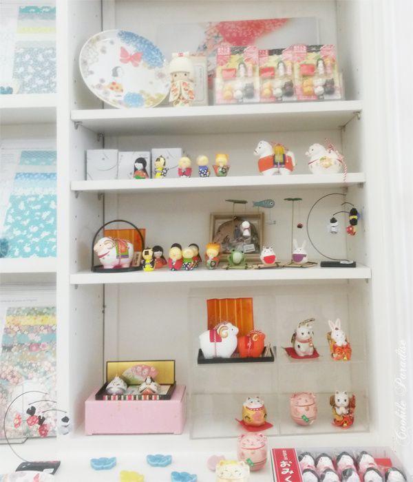 Les petits papiers japonais, origami, décoration authentique &amp&#x3B; artisanale ♥ Immersion dans la jolie boutique d'Adeline Klam à Paris